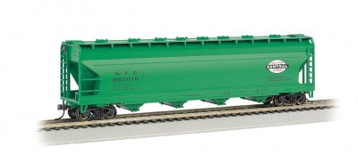 New York Central Jade Green - 56' ACF Center-Flow Hopper