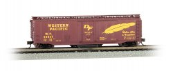 Western Pacific™ #56057 - Track Cleaning 50' Plug-Door Box Car