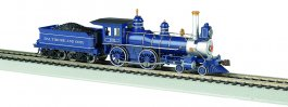 Baltimore & Ohio® - DCC Sound Value (HO American 4-4-0)