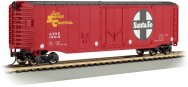 Santa Fe - 50' Plug Door Box Car (HO Scale)
