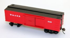 Box Car (Old Time) - Western & Atlantic RR (HO Scale)