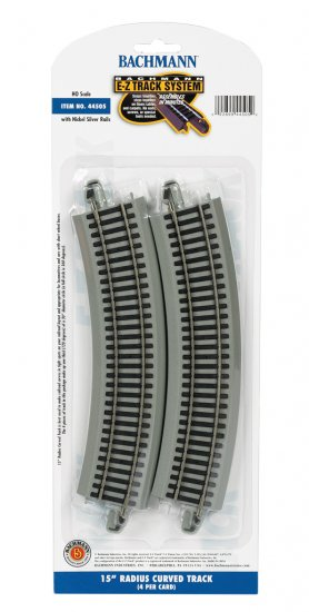 "15"" Radius Curved (HO Scale) - Click Image to Close"