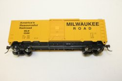 Boxcar - 40' - Milwaukee Road (HO Scale)