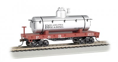 Philadelphia & Reading - Old-Time Tank Car (HO Scale)