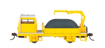 Ballast Vehicle With Crane - DCC (HO Scale)