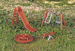 Playground Equipment (HO Scale)