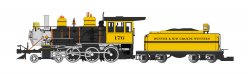 D&RGW™ - Bumblebee - 4-6-0 (DCC & SOUND READY)
