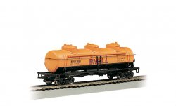 Shell #1258 - 40' Three Dome Tank Car (HO Scale)