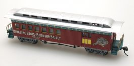 Combine Coach - Ringling Bros (HO Scale)