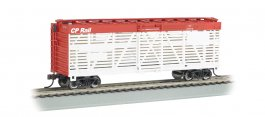 CP Rail - 40' Stock Car (HO Scale)