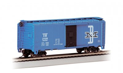 Boston & Maine #2109 40' Box Car (HO Scale)