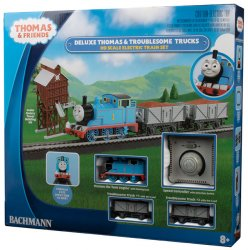 Deluxe Thomas & The Troublesome Trucks Set (HO Scale)