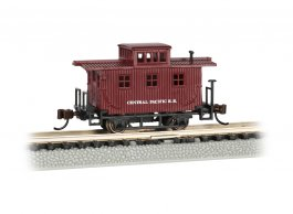 Central Pacific - Old-Time Caboose (N scale)
