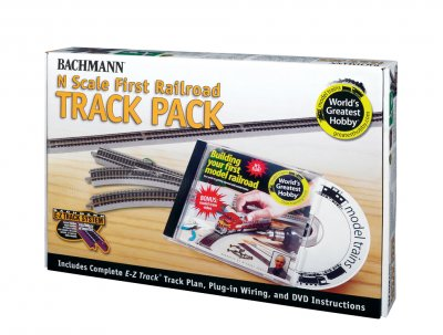 World's Greatest Hobby® First Railroad Track Pack (N Scale)