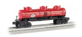 Cook Paint & Varnish - Three-Dome Tank Car