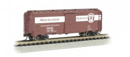 Pennsylvania Merchandise Service - AAR 40' Steel Box Car