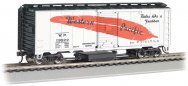 Western Pacific™ #19522 (Feather) - Track-Cleaning 40' Box Car