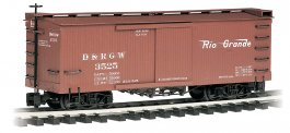 Denver & Rio Grande Western™ - Box Car (Large Scale)