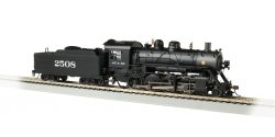 Santa Fe #2508 Baldwin 2-8-0 Consolidation - DCC Sound Value