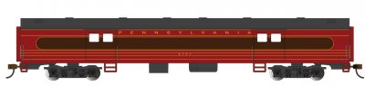 PRR #6707 - Fleet of Modernism - 72 Ft Smooth-Side Baggage Car