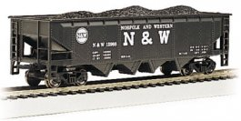 Norfolk & Western - 40' Quad Hopper