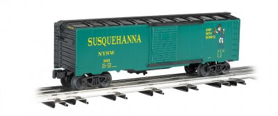 New York, Susquehanna & Western - Suzy Q - 40' Box Car