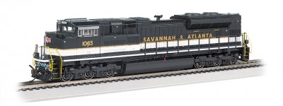 Savannah & Atlanta - NS Heritage - SD70ACe-DCC Sound Value (HO)
