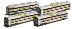 Canadian Pacific - 60' Aluminum Streamliners 4 Car Set