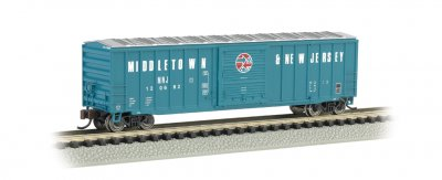 Middletown & New Jersey - ACF 50.5' Outside Braced Box Car