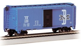 Boston & Maine - 40' Box Car (HO Scale)