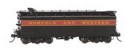 Auxiliary Water Tender - Norfolk & Western Black w/Maroon
