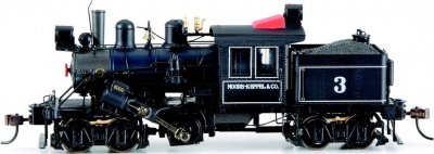 Moore Keppel & Co. #3 - 50-ton Two-Truck Climax (HO Scale)