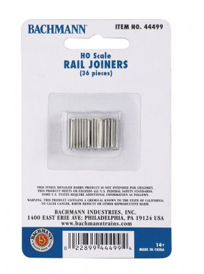 Rail Joiners (HO Scale)