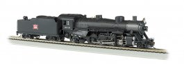 Rock Island #2319 Light 2-8-2 w/Medium Tender - DCC Ready (HO)