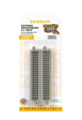 "Nickel Silver Auto-Reversing 5"" Straight Track - N Scale"