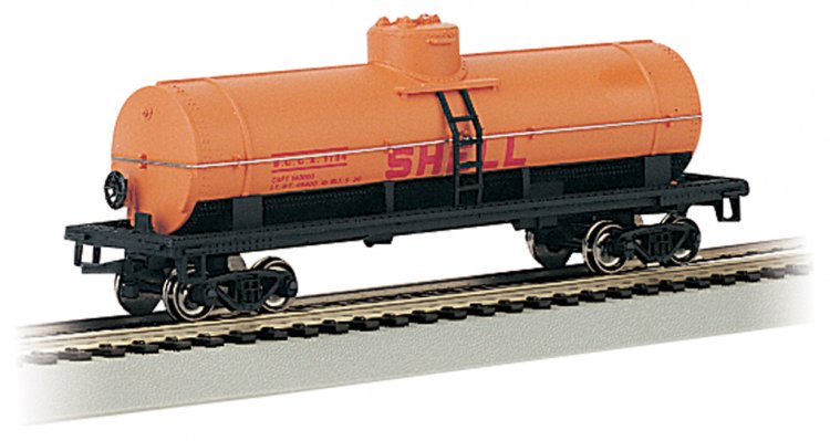 Shell - 40' Single-Dome Tank Car (HO Scale) - Click Image to Close