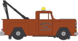 E-Z Street™ Tow Truck - Rusty's Auto Salvage