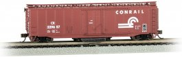 Conrail #229657 - Track-Cleaning 50' Plug-Door Box Car (N Scale)