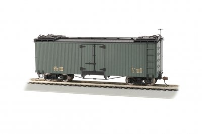 Green with Black Roof - Reefer - Data Only