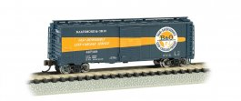 B & O Timesaver - AAR 40' Steel Box Car