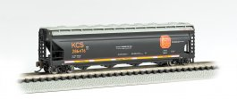 Kansas City Southern #286476 - ACF 56' 4-Bay Center Flow Hopper