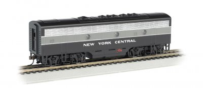 New York Central (Lightning Stripe) - F7B-DCC Sound Value (HO)