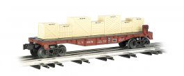 Lehigh Valley - Flat car w/ crates