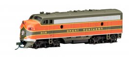 Great Northern (green & orange) - F7A - DCC