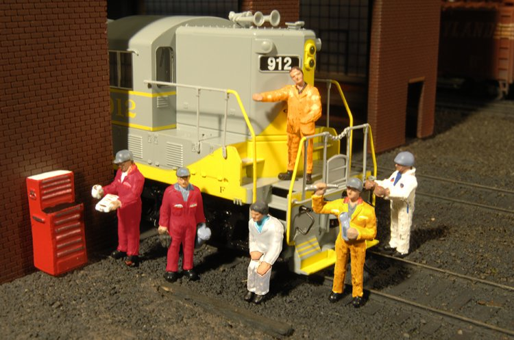 Mechanics - HO Scale - Click Image to Close