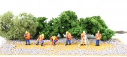 Highway Maintenance Crew - HO Scale