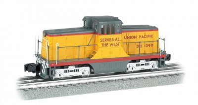 Union Pacific #1399 - Scale 44 Ton Switcher