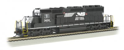 NS Thoroughbred #3430 - SD40-2 - DCC Sound Value (HO Scale)