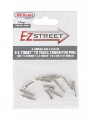 E-Z Street® To Track Connector Pins (8 Outside & 4 Center)