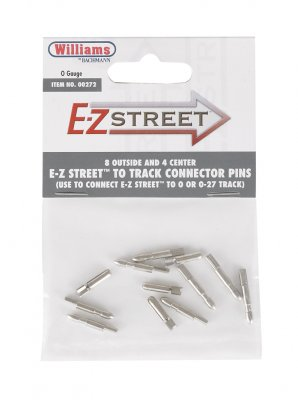 E-Z Street To Track Connector Pins (8 Outside & 4 Center)